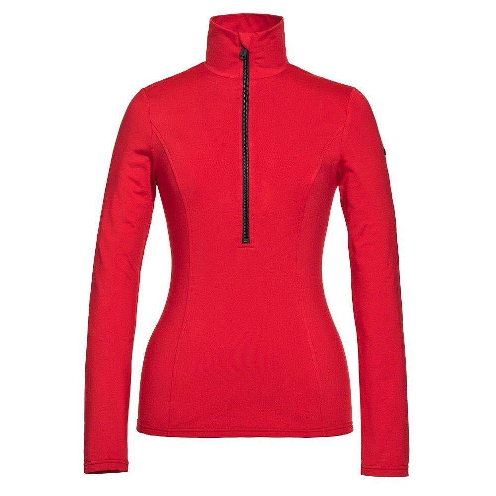 Goldbergh Serena Half Zip Turtleneck Mid-Layer (Women's) - Ruby Red