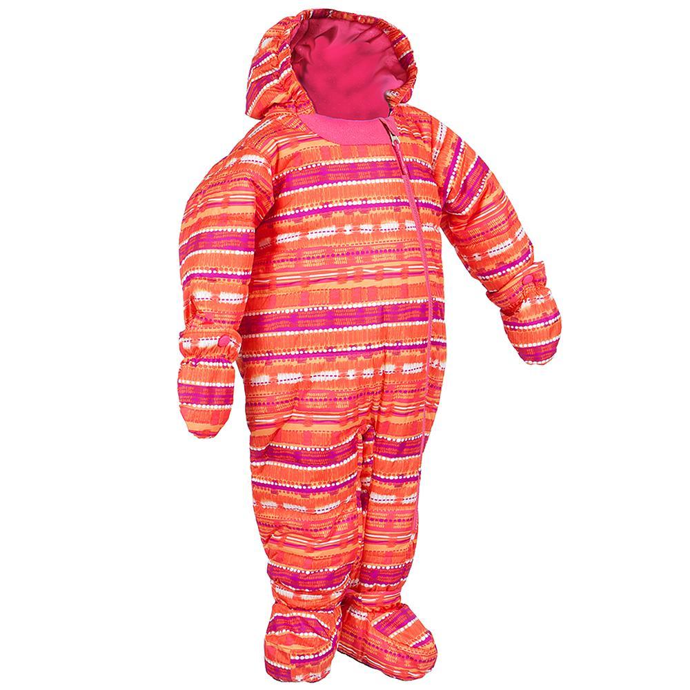 Jupa Pacha One-Piece Ski Suit (Toddler Girls') - Apricot Blush Print
