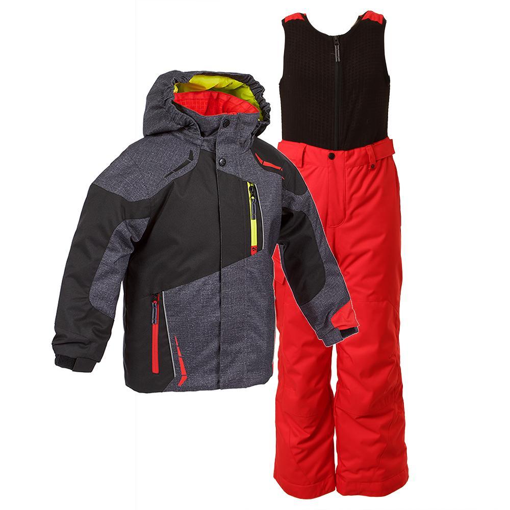 Jupa Aleksander Two-Piece Ski Suit (Toddler Boys') - Dark Grey Denim Print
