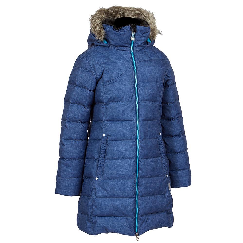 Jupa Agata Jacket (Girls') - Dark Blue Denim Print