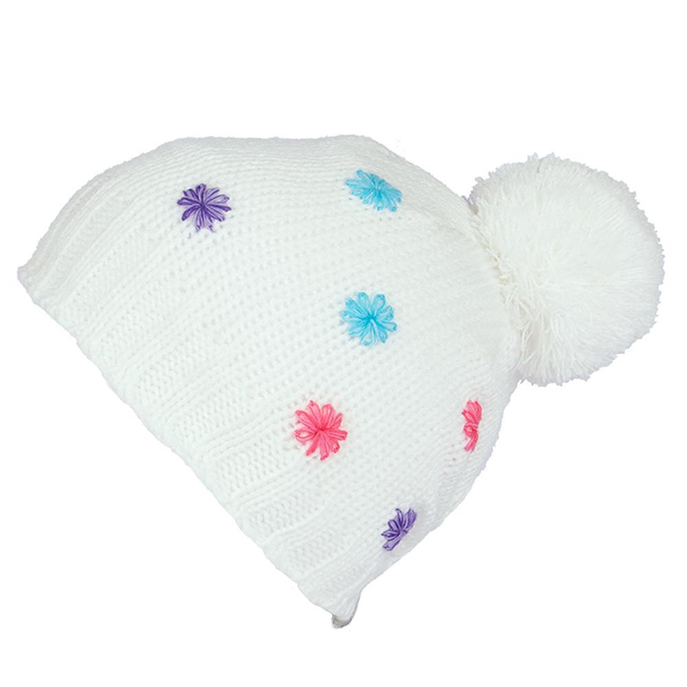 Jupa Emilia Knit Hat (Little Girls') - Peroxide White