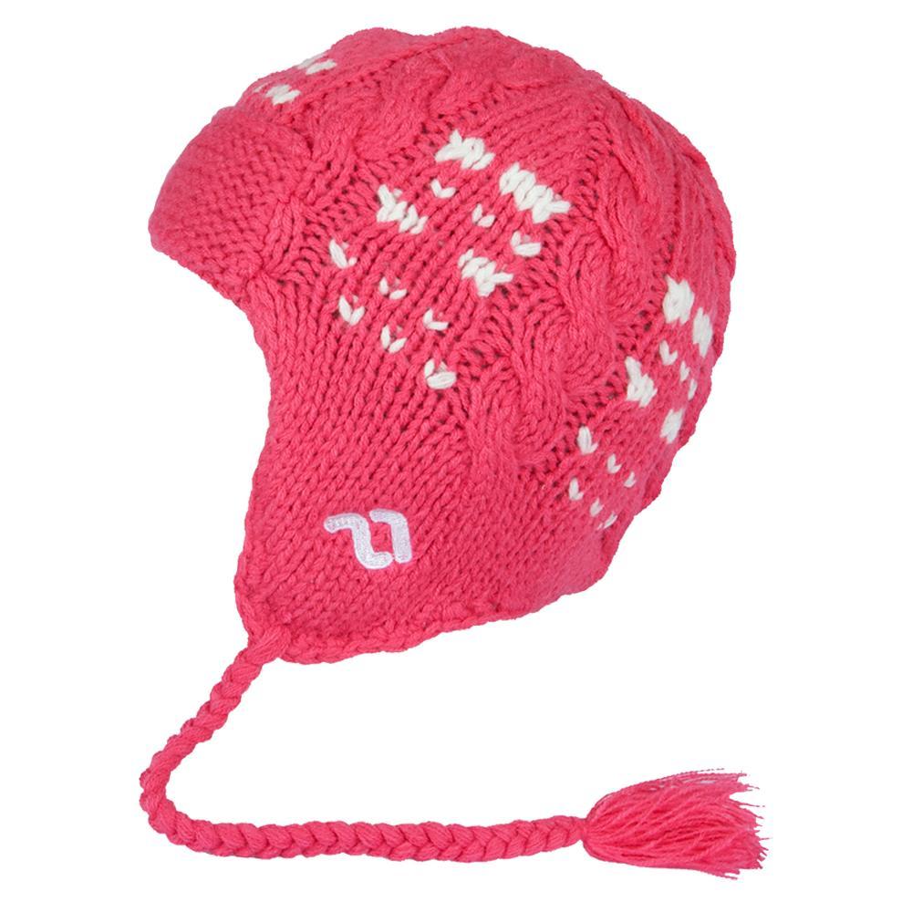 Jupa Klara Knit Hat (Little Girls') - Foxy Pink