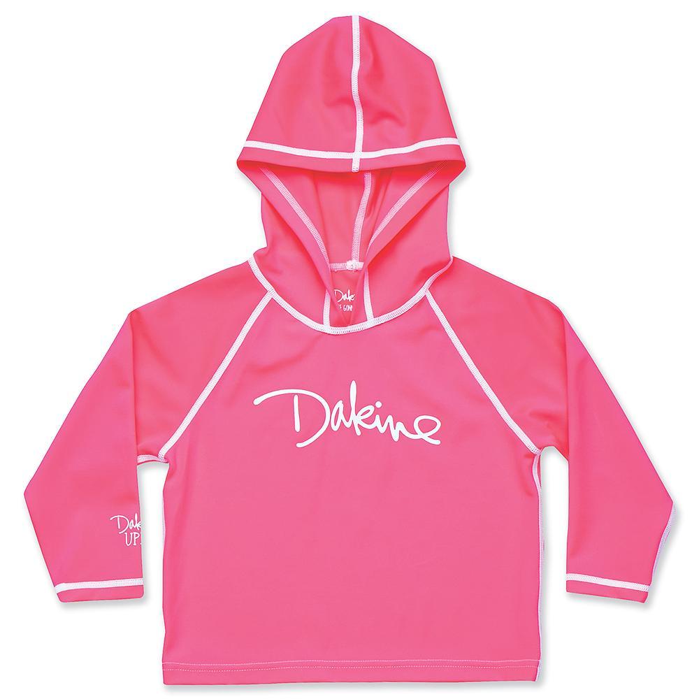 Dakine Long Sleeve Hoodie Rash Guard (Toddler Girls') - Pop Star