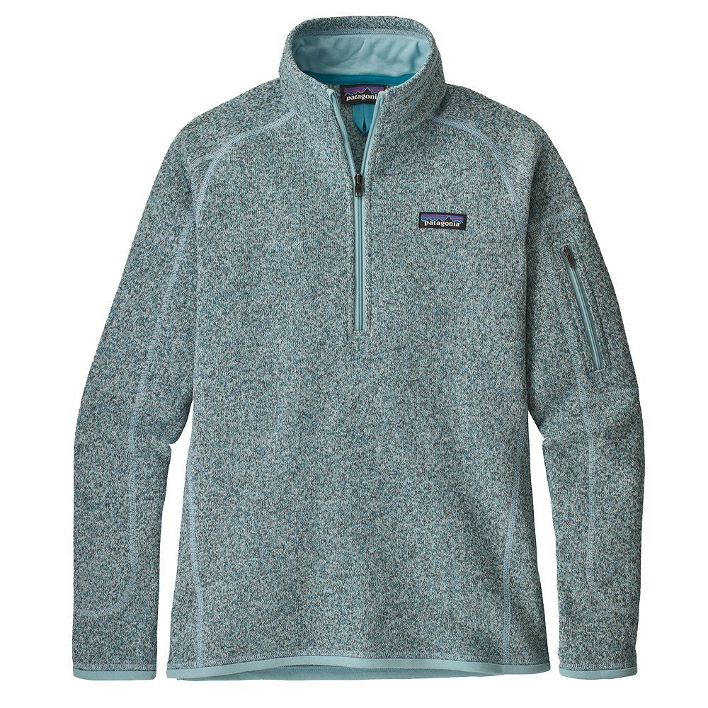 Patagonia Better Sweater 1/4-Zip Mid-Layer (Women's) - Atoll Blue