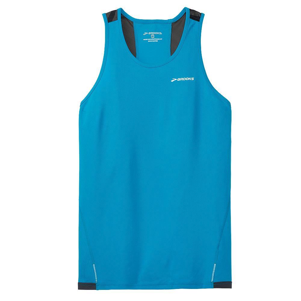 Brooks rev singlet iii sleeveless running shirt men 39 s for Singlet shirt for mens