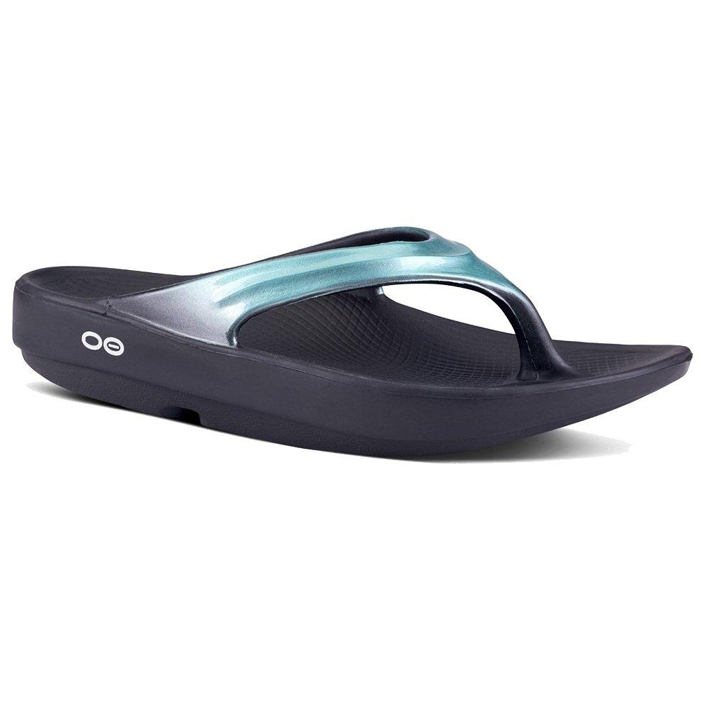 OOFOS OOlala Sandals (Women's) - Metallic Mint