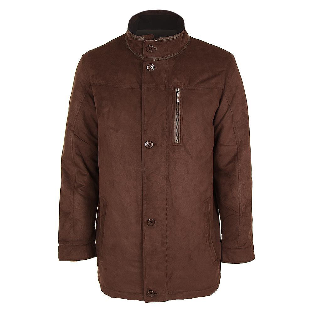 Bugatchi 3/4 Length Jacket (Men's) - Chocolate