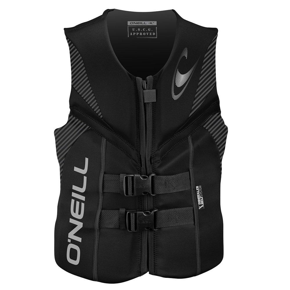 O'Neill Reactor USCG Life Vest (Men's) - Black