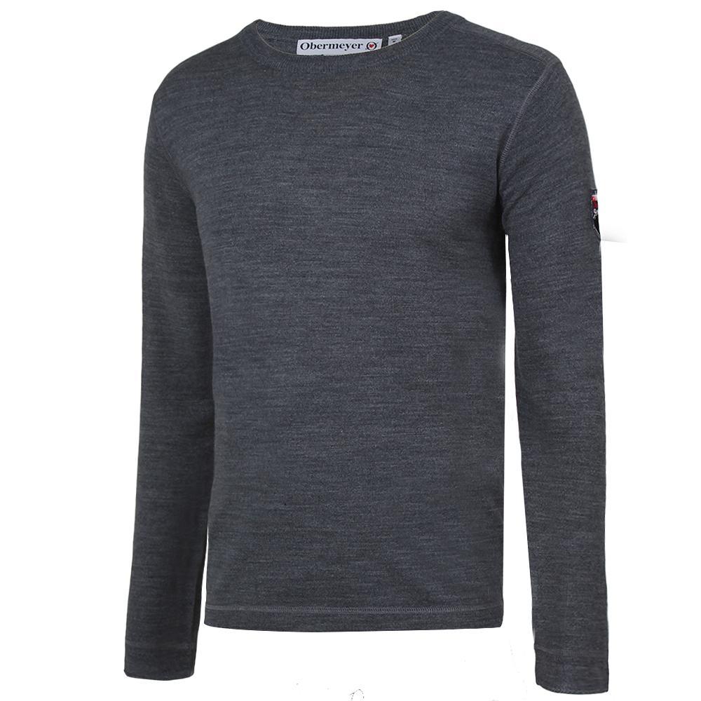 Obermeyer Chad Crew Sweater (Men's) - Silver