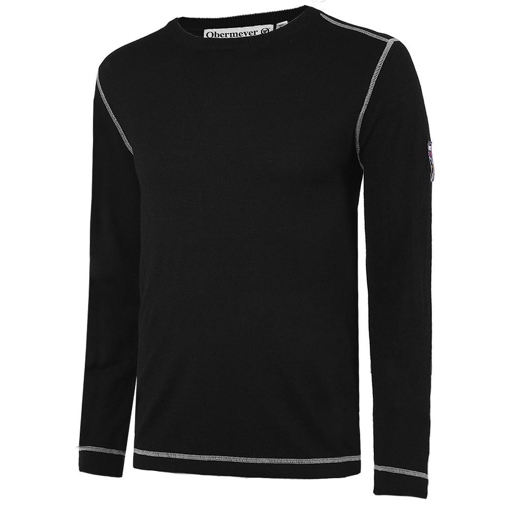 Obermeyer Chad Crew Sweater (Men's) - Black