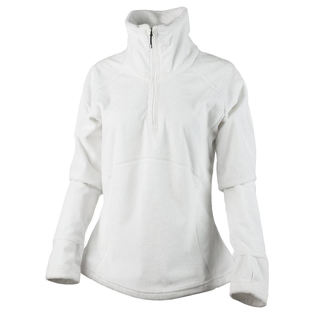 Obermeyer Brandi Half Zip Fleece Mid-Layer (Women's) - White