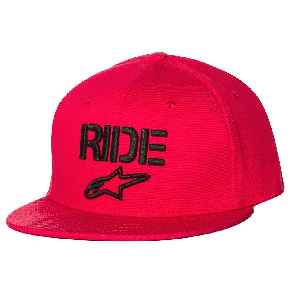 Alpinestars Ride Flatbill Hat (Men's) - Red