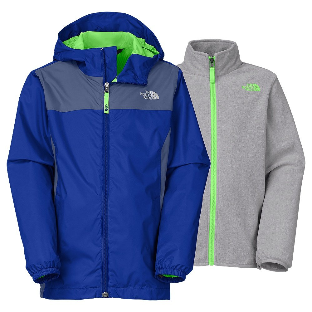 the north face stormy rain triclimate ski jacket boys. Black Bedroom Furniture Sets. Home Design Ideas