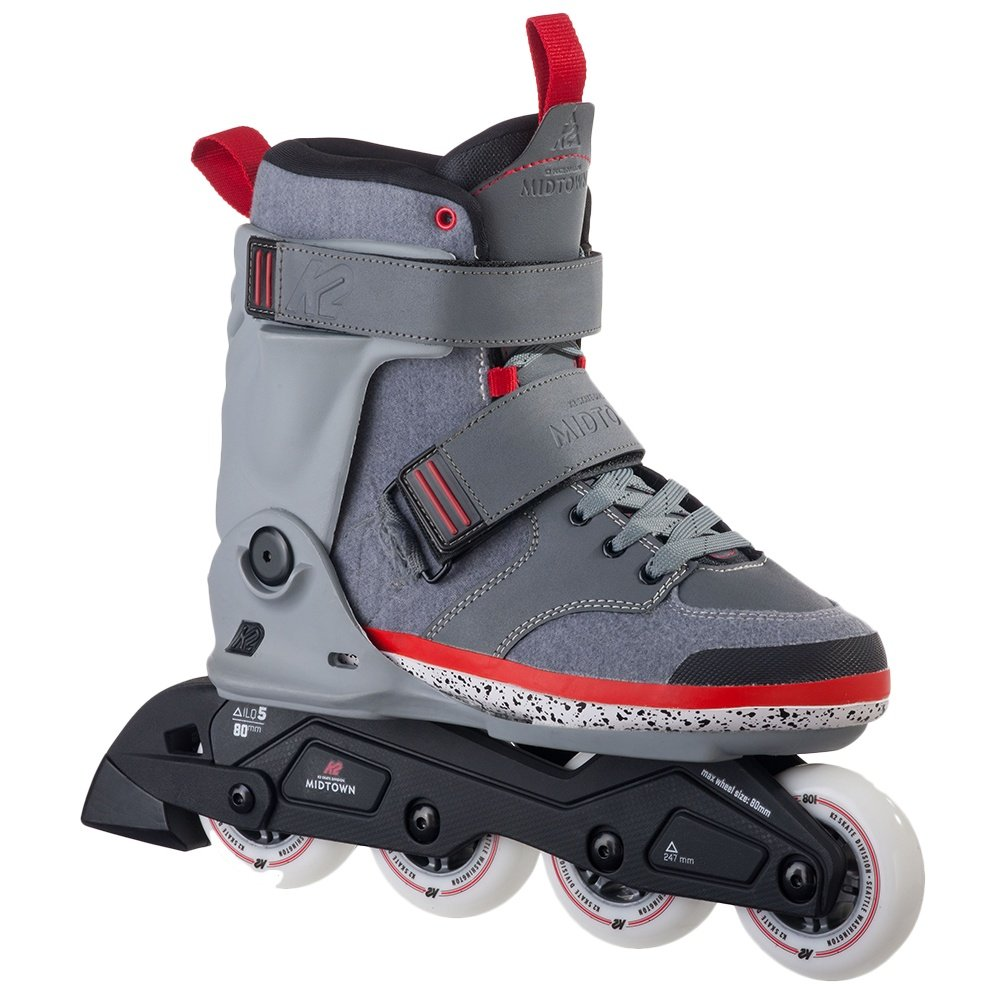 K2 Midtown Inline Skate (Men's) - Gray