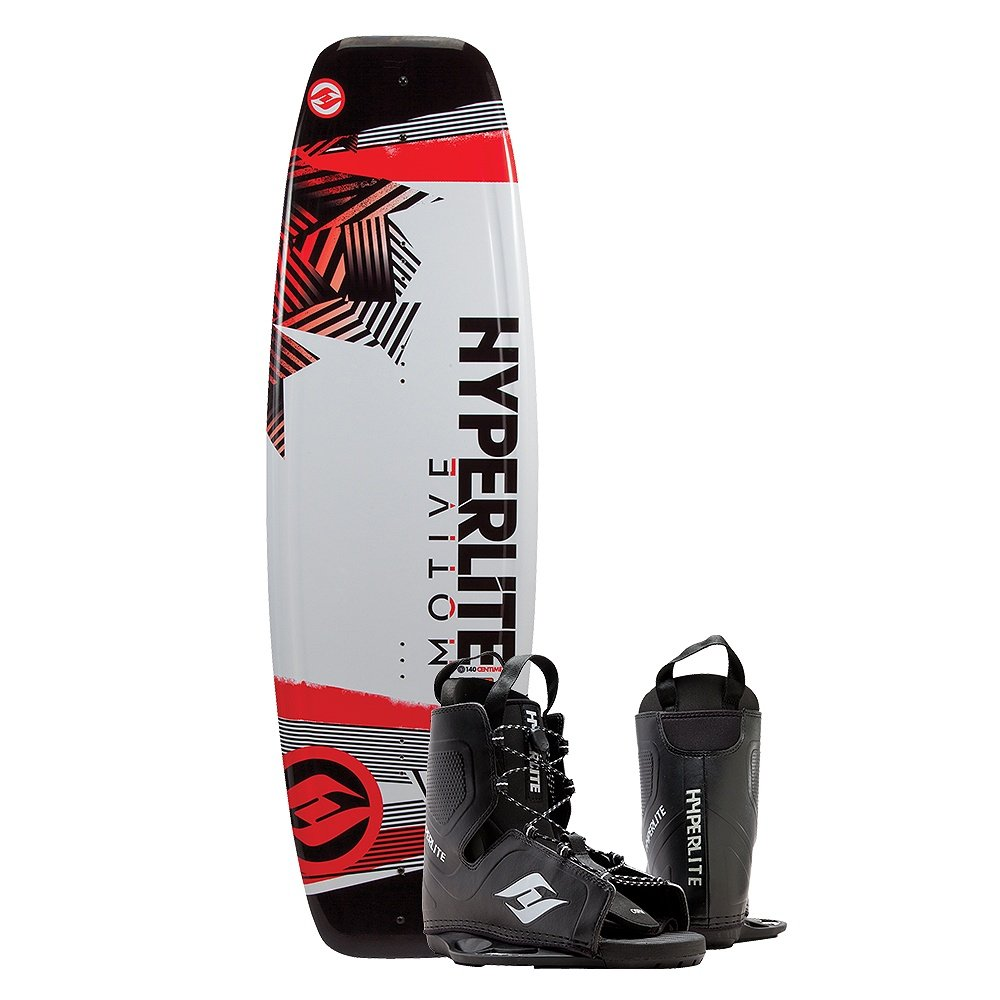 Hyperlite Motive 140 Wakeboard with Frequency Boot (Men's) | Peter Glenn