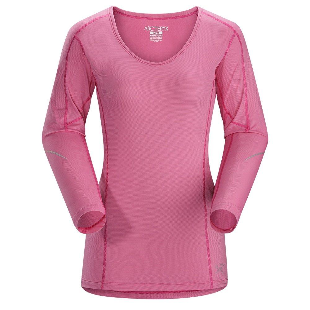 Arc'teryx Motus Crew Long Sleeve Shirt (Women's) - Houli Pink