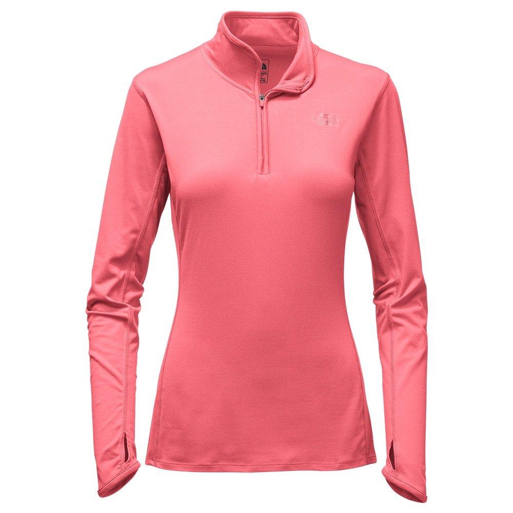 The North Face Motivation Half Zip Sweater (Women's) - Calypso Coral