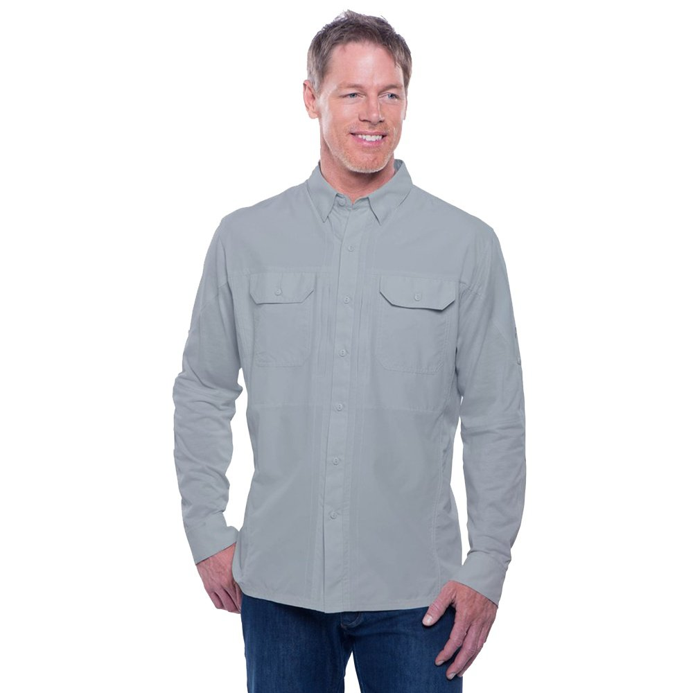 Kuhl Airspeed Long Sleeve Shirt (Men's) - Slate