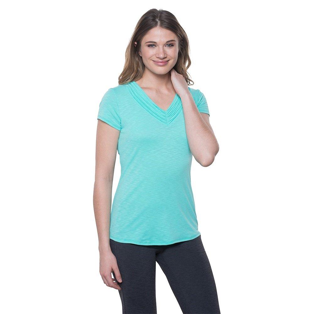 Kuhl Sora Short Sleeve Shirt (Women's) - Belize