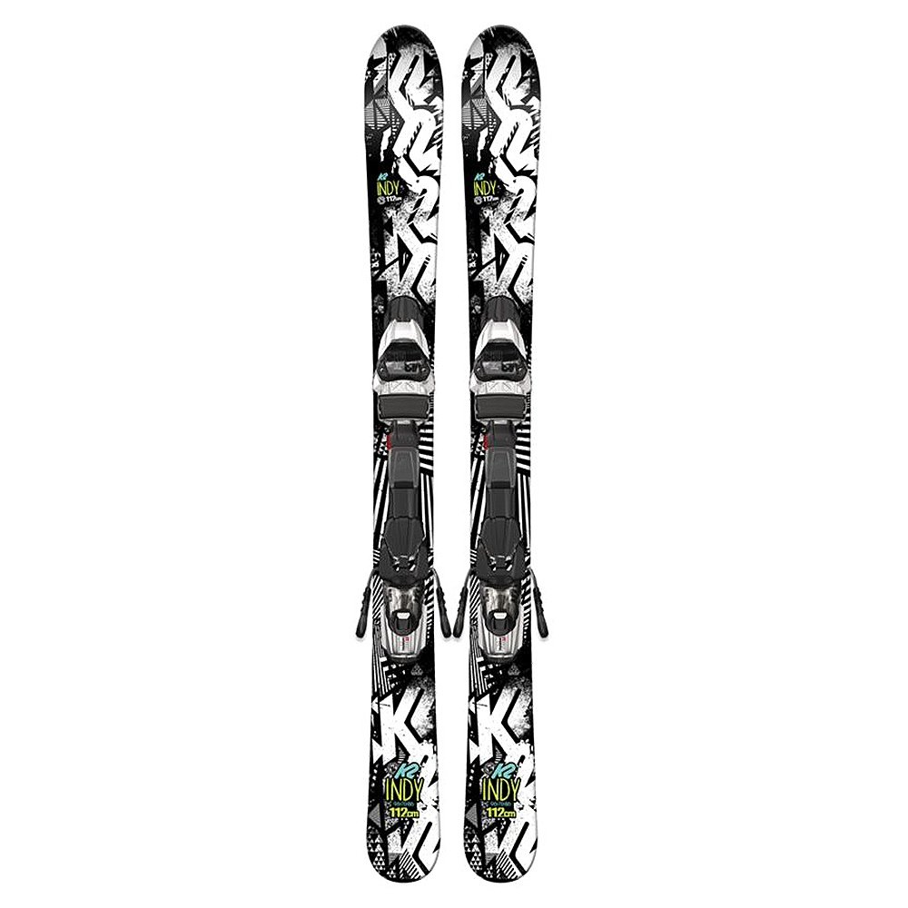 K2 Indy Ski System with Bindings (Girls') -
