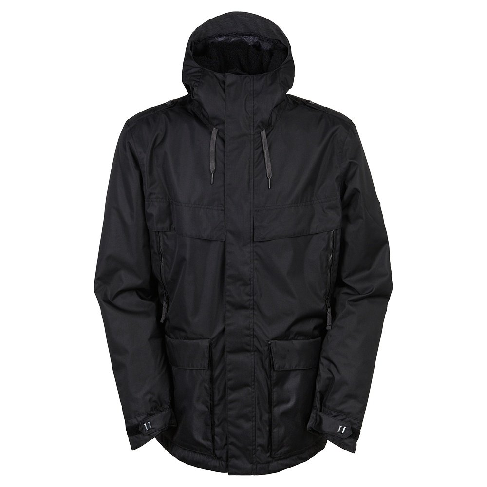 686 Parklan Field Insulated Snowboard Jacket (Men's) - Black