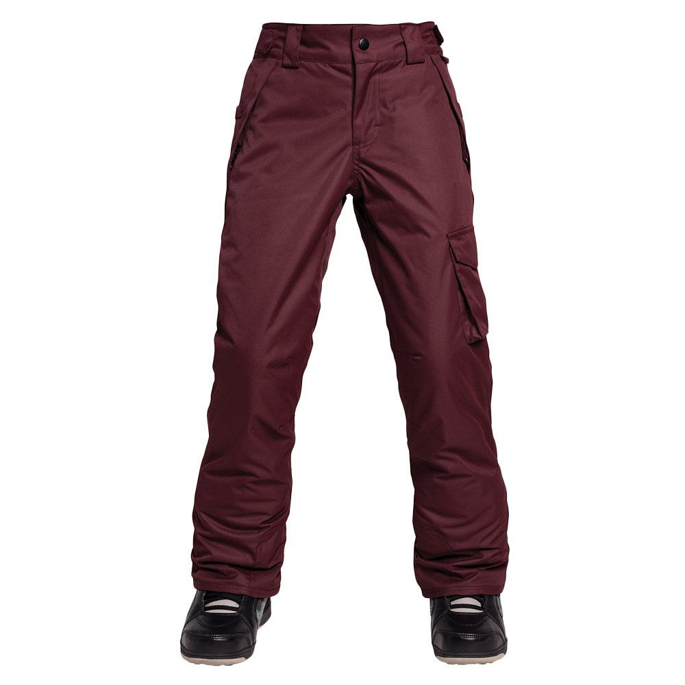 686 Agnes Insulated Snowboard Pant (Girls') - Black Ruby
