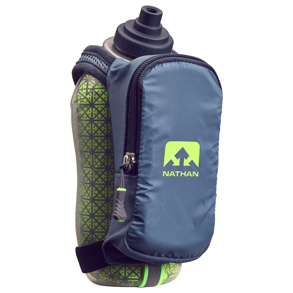 Nathan SpeedDraw Plus Insulated Running Water Bottle - Blue Stone