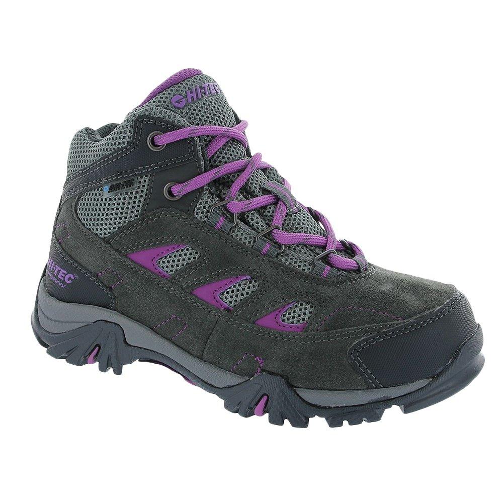 Hi-Tec Logan Waterproof Boot  (Kids') - Charcoal/Grey/Orchid
