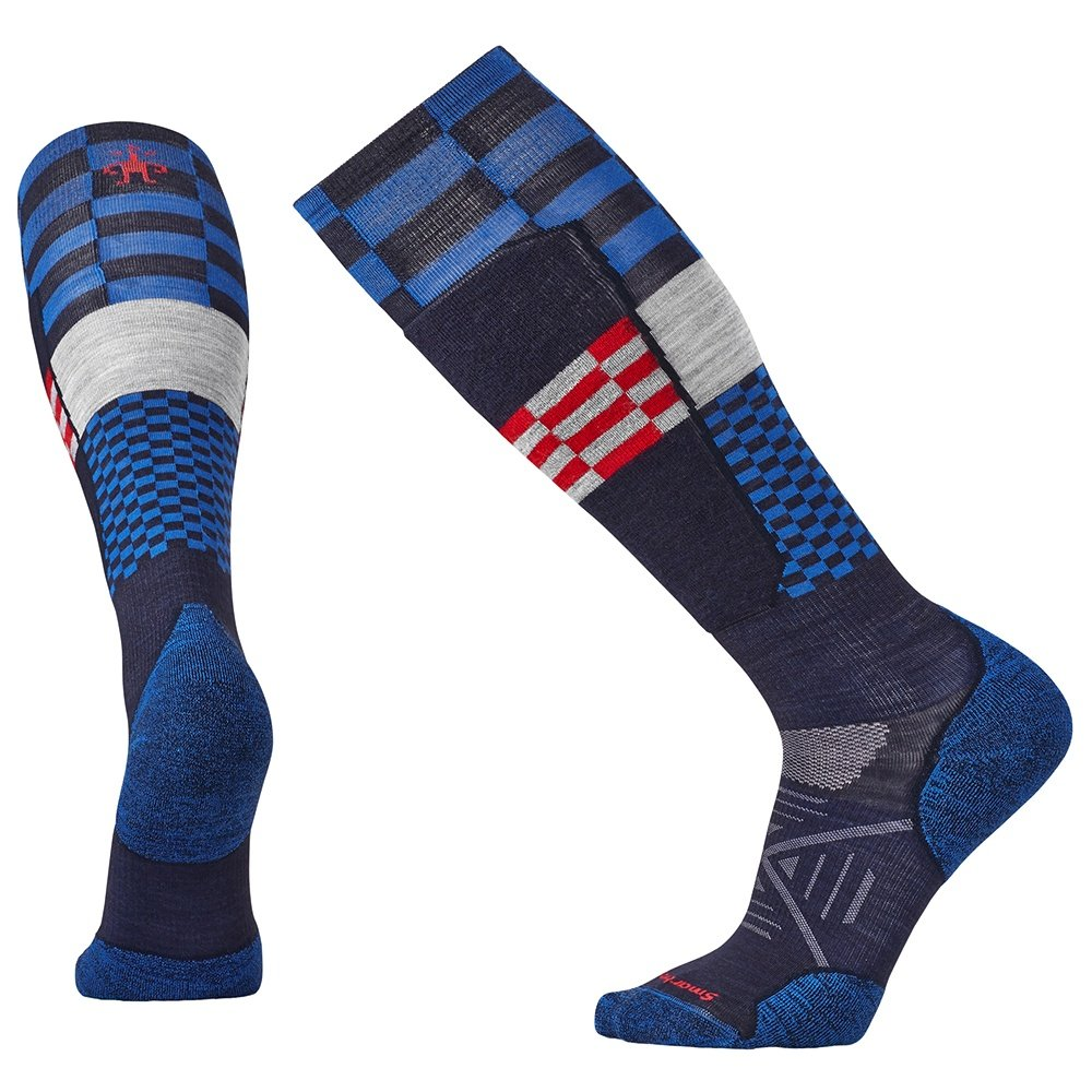 SmartWool PHD Light Elite Ski Sock (Men's) - Navy