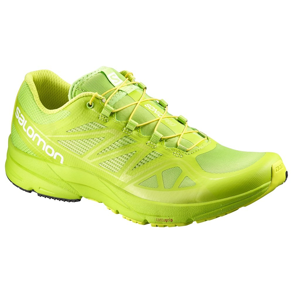 Salomon Sonic Pro Running Shoe (Men's) - Granny Green. Loading zoom