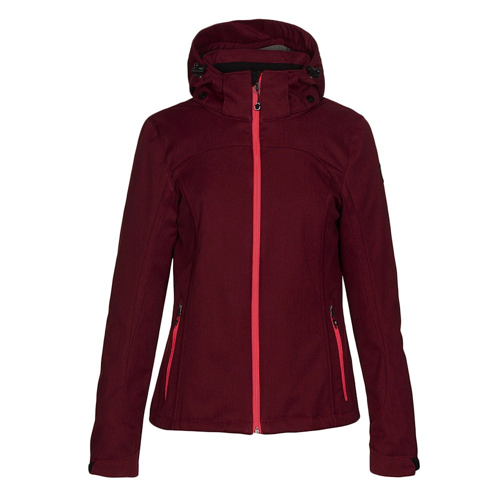 Killtec Sigla Soft Shell Jacket (Women's) - Wine Red