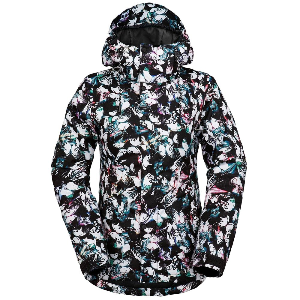 Volcom Bolt Insulated Snowboard Jacket (Women's) - Flutter Collage Print