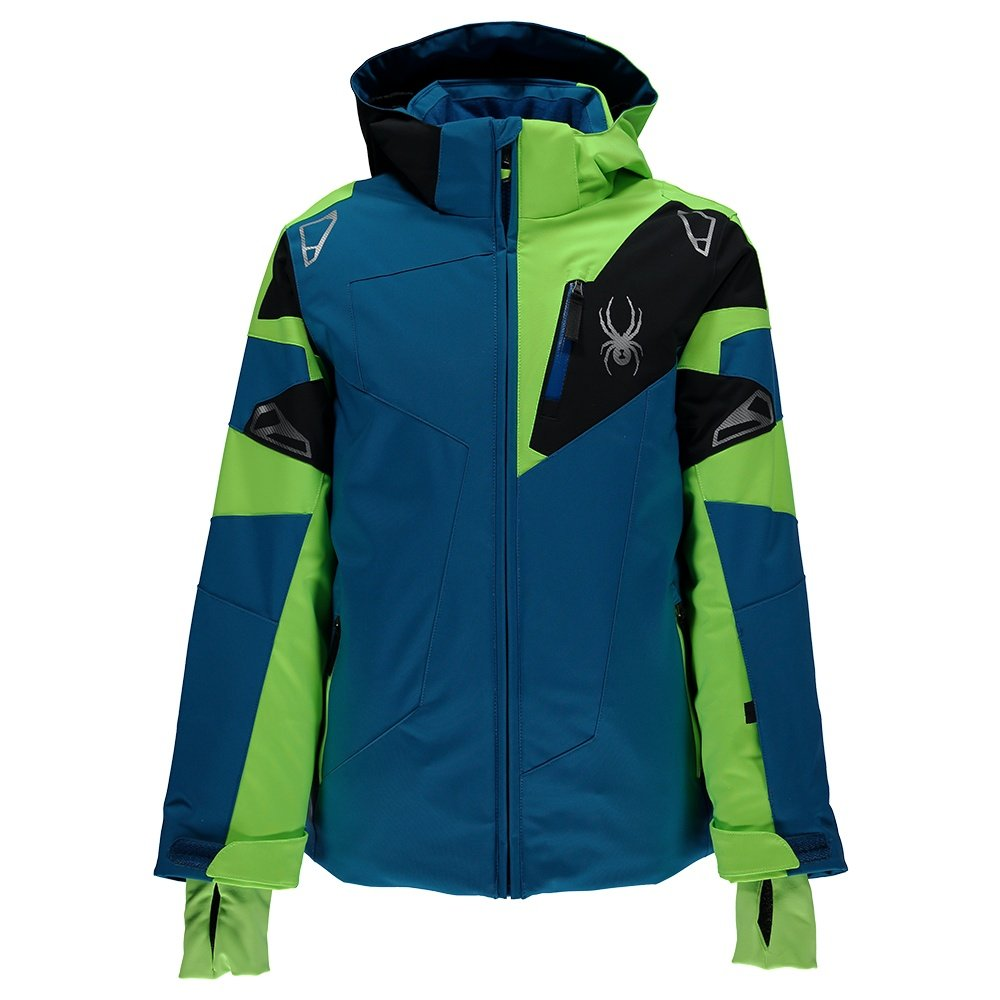 Spyder Leader Insulated Ski Jacket Boys Ebay