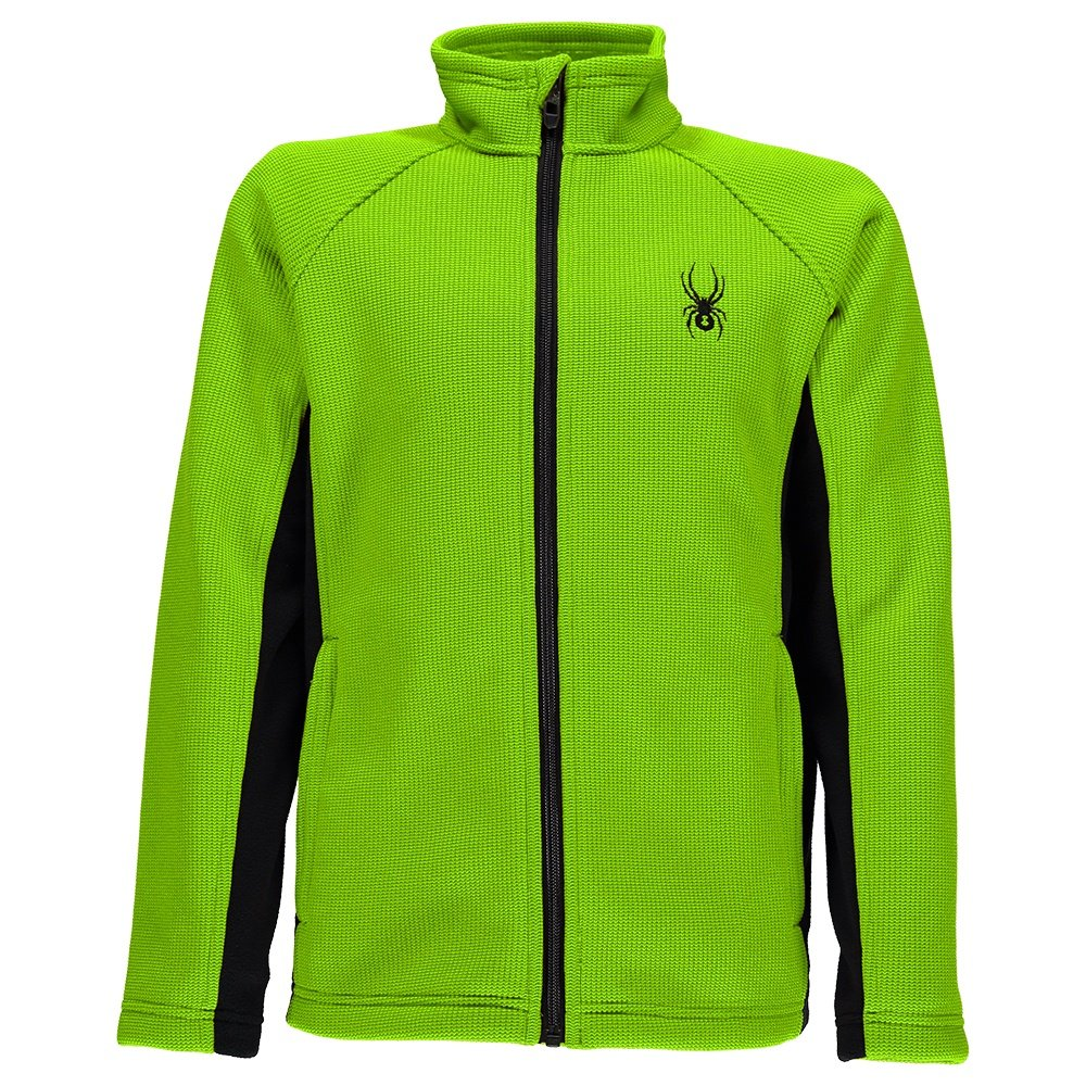 Spyder Constant Mid Weight Core Stryke Sweater (Boys') - Bryte Green/Black