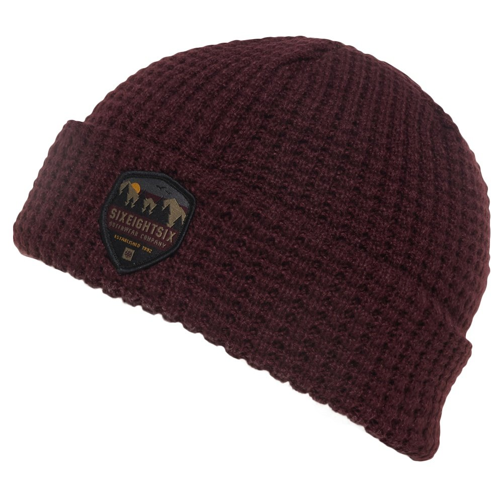 05022537afe 686 Waffle Roll Up Beanie (Men s)