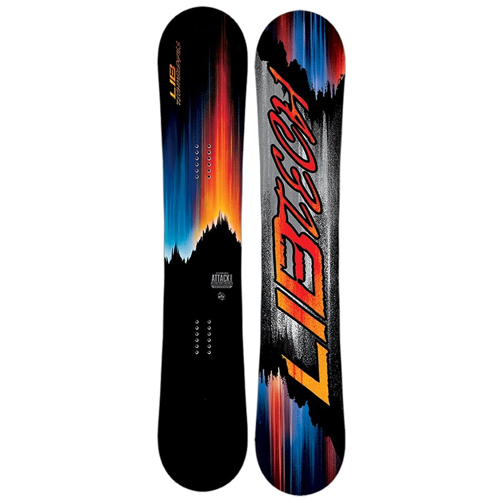 Lib Tech Attack Banana Horsepower Wide Snowboard (Men's) - 156