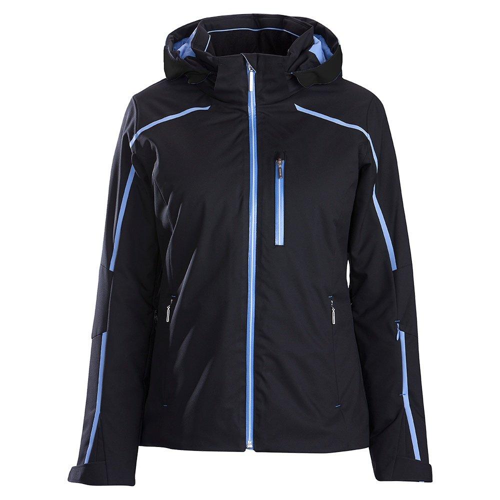 Descente Kenna Insulated Ski Jacket (Women's) - Black/Iris