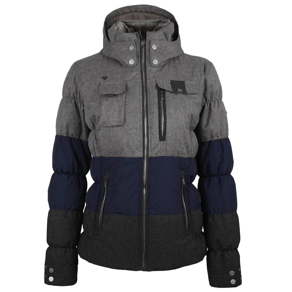 Obermeyer Leighton Insulated Ski Jacket (Women's) - Light Heather Grey