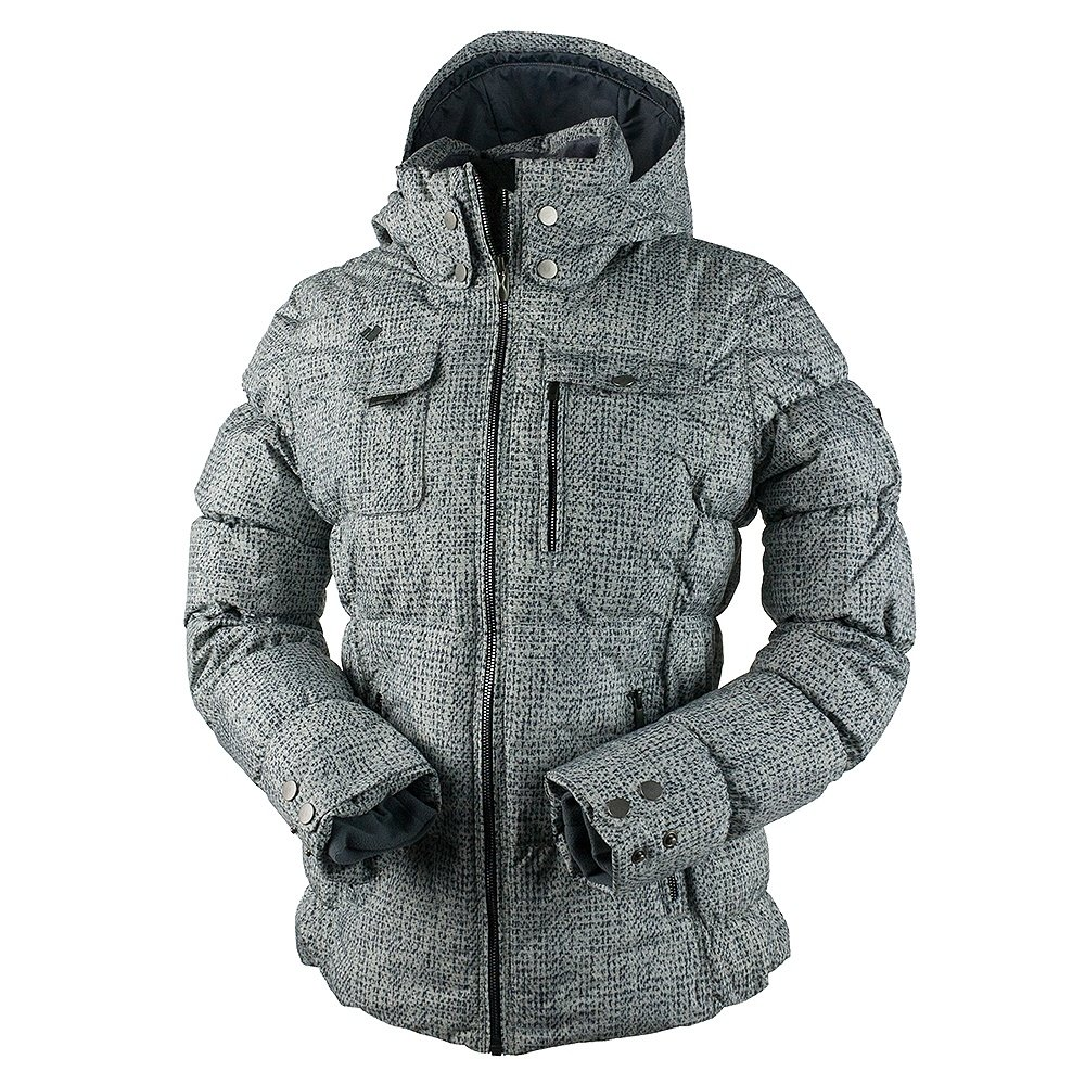 Obermeyer Leighton Insulated Ski Jacket (Women's) - Mini Tweed