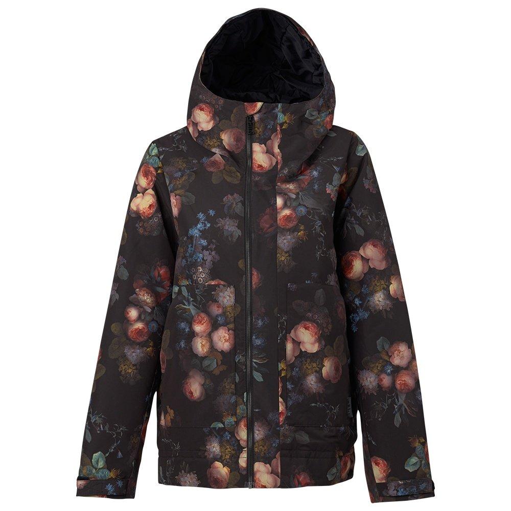 burton radar insulated snowboard jacket  women s  peter north face ladies winter jacket