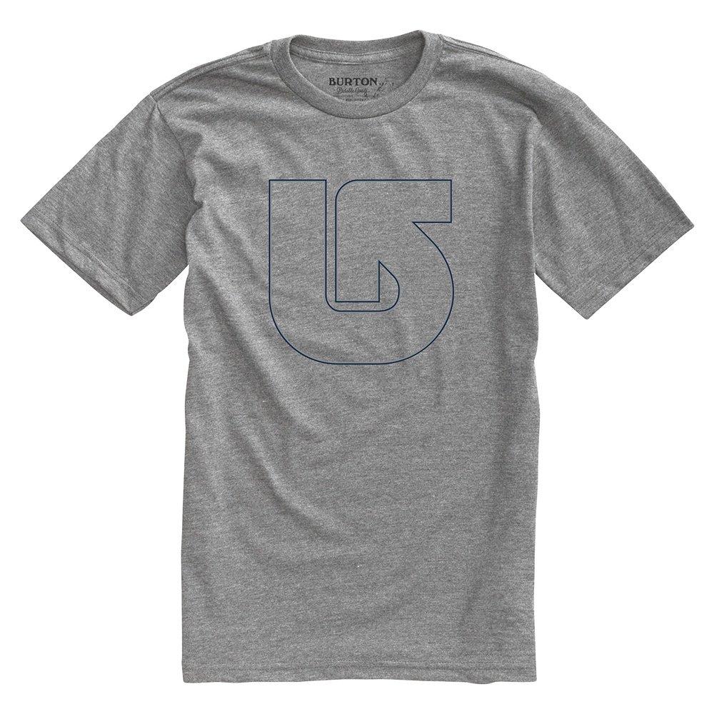 Burton Pinner Short Sleeve T-Shirt (Men's) - Heather Grey