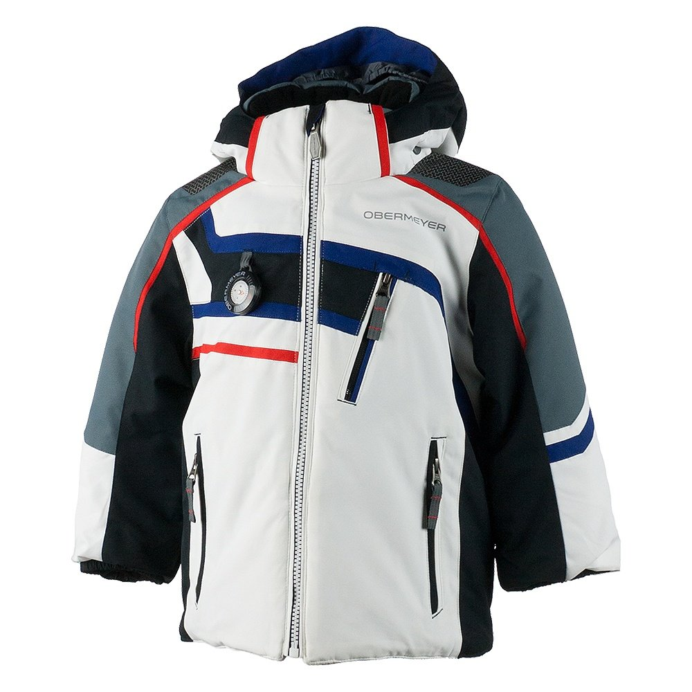 Obermeyer Tomcat Insulated Ski Jacket (Little Boys') - White