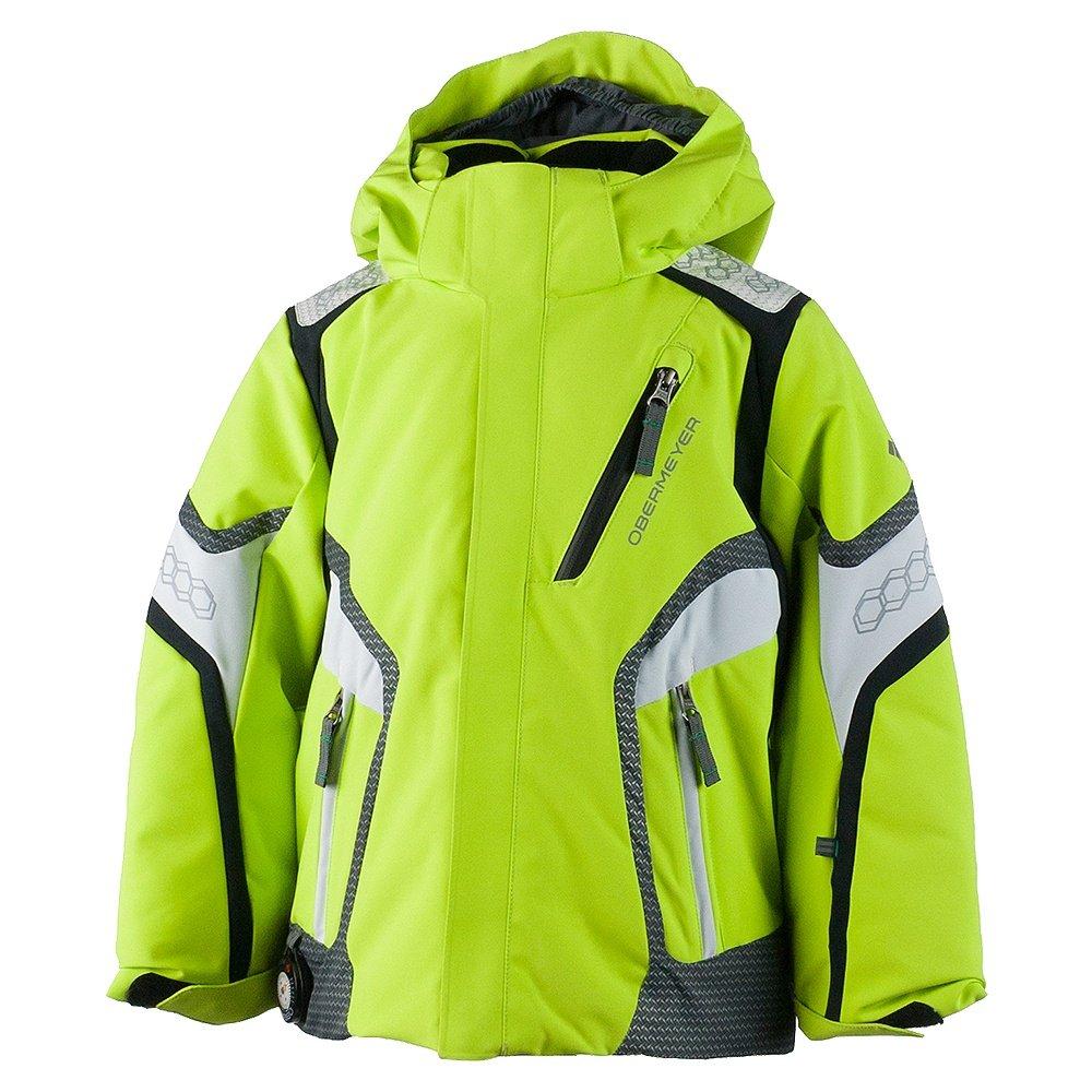 Obermeyer Cobra Insulated Ski Jacket (Little Boys') - Screamin Green
