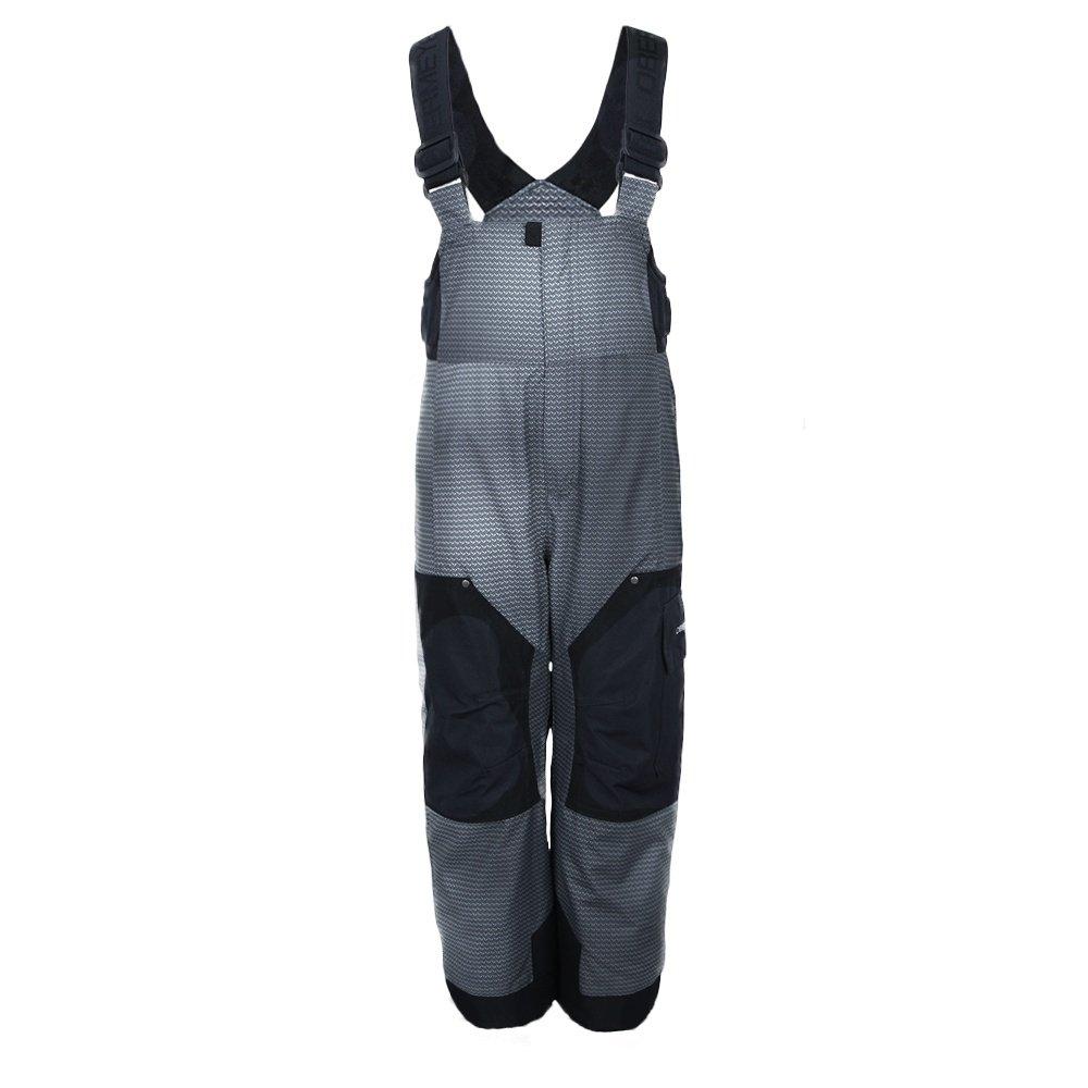 Obermeyer Volt Print Insulated Ski Pant (Little Boys') - Dark Karbon Fiber