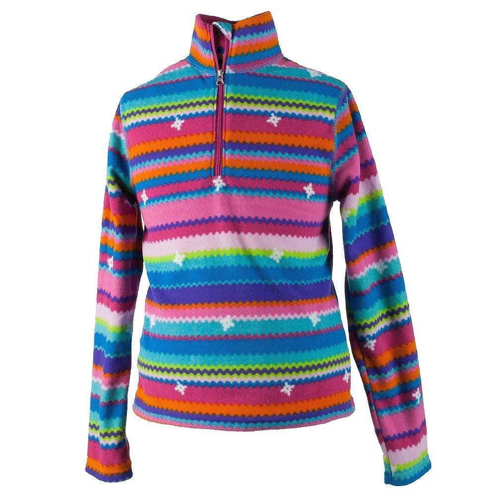 Obermeyer Bomber Pro Fleece Top (Little Kids') - Scribble Stripe