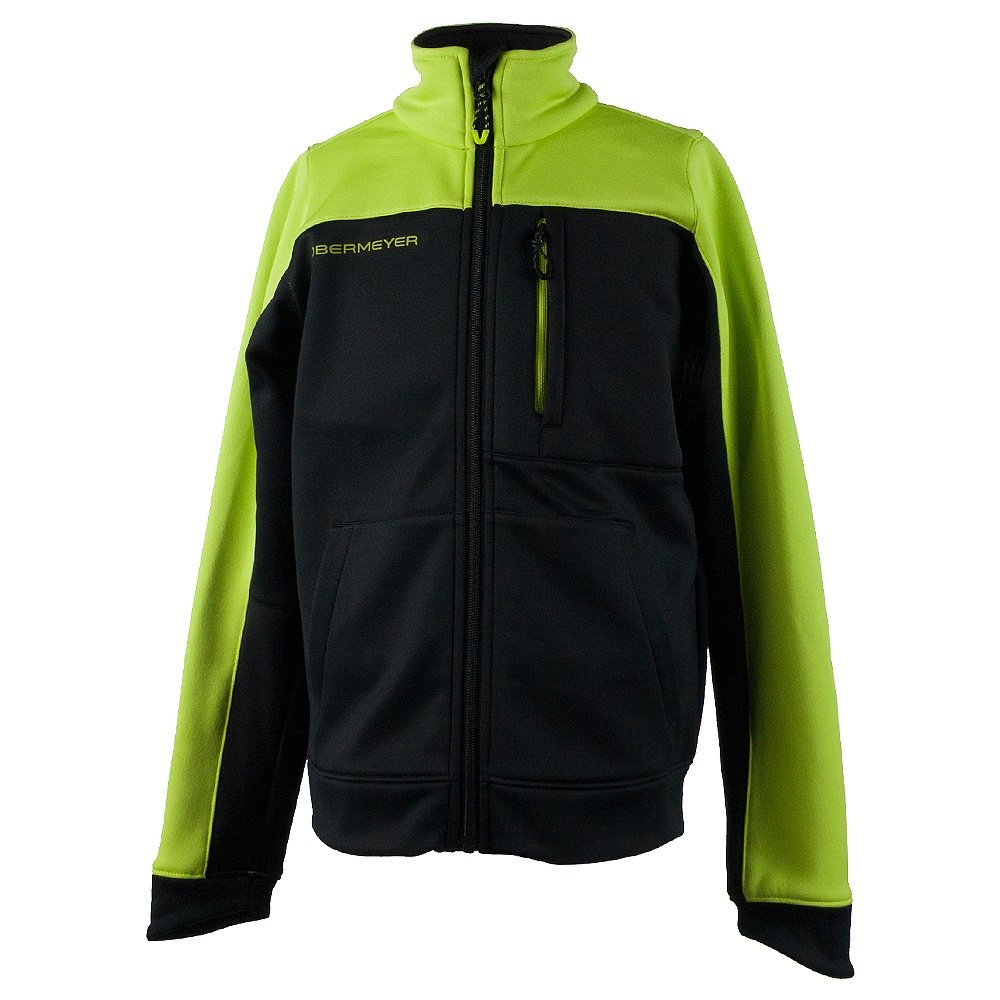 Obermeyer Rev Fleece Jacket (Boys') - Screamin Green