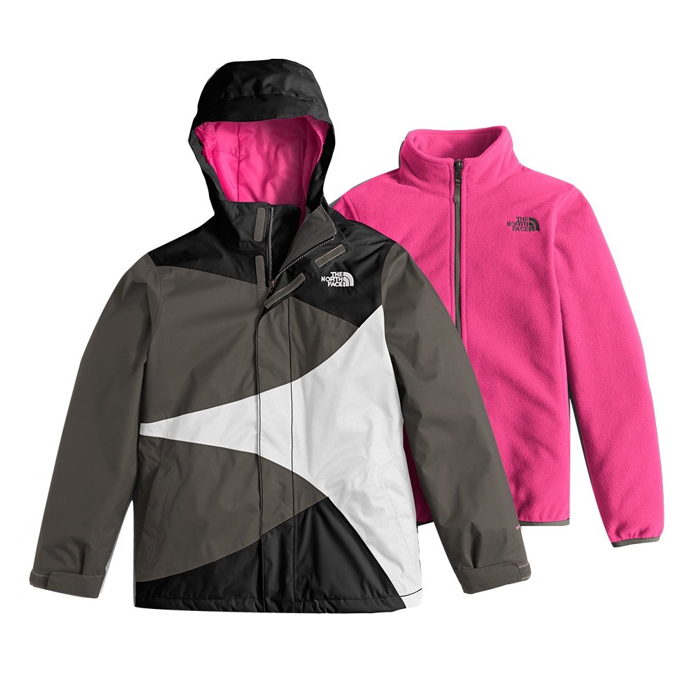 The North Face Mountain View Triclimate Ski Jacket (Girls') - TNF Black