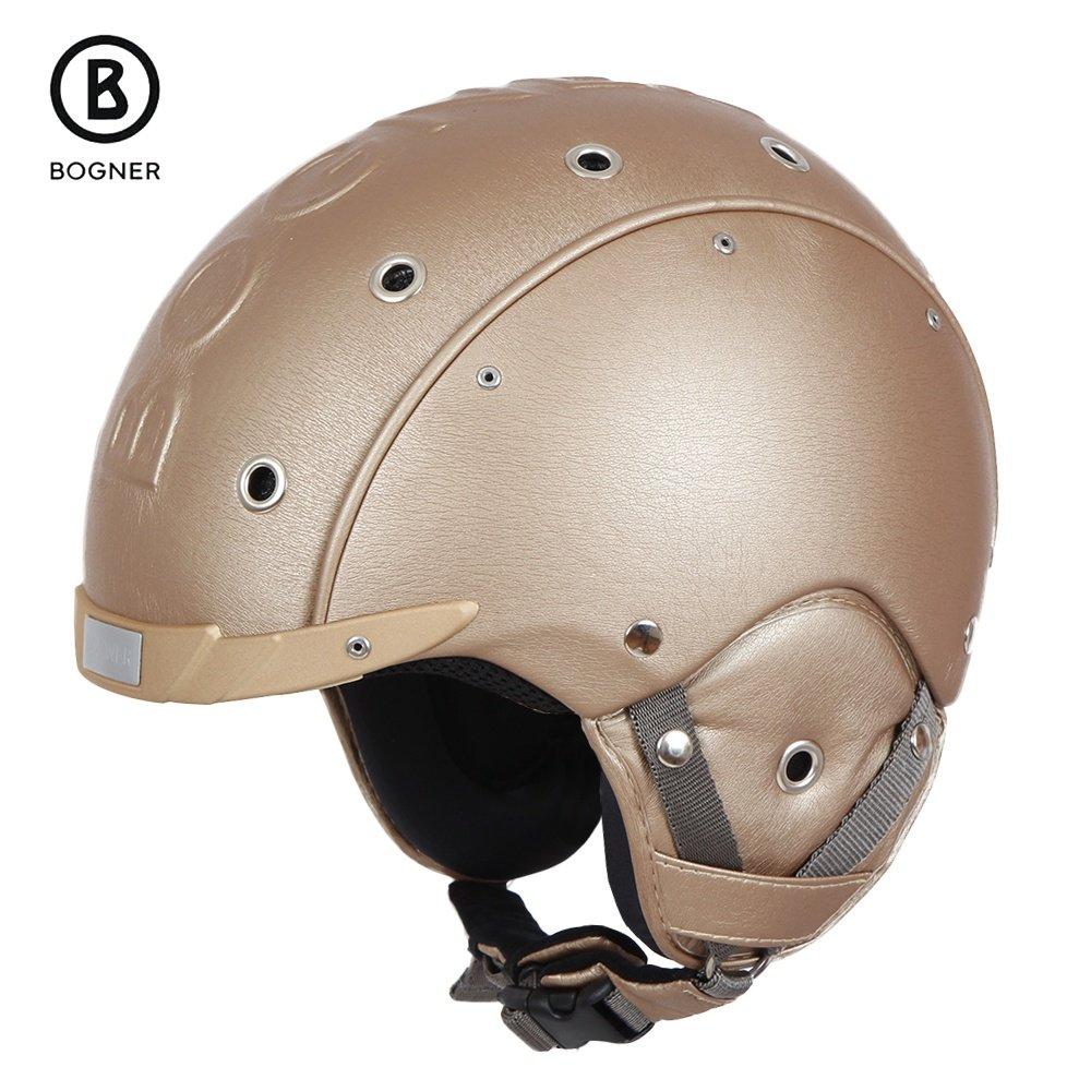 Bogner Leather Helmet (Adults') - Champagne