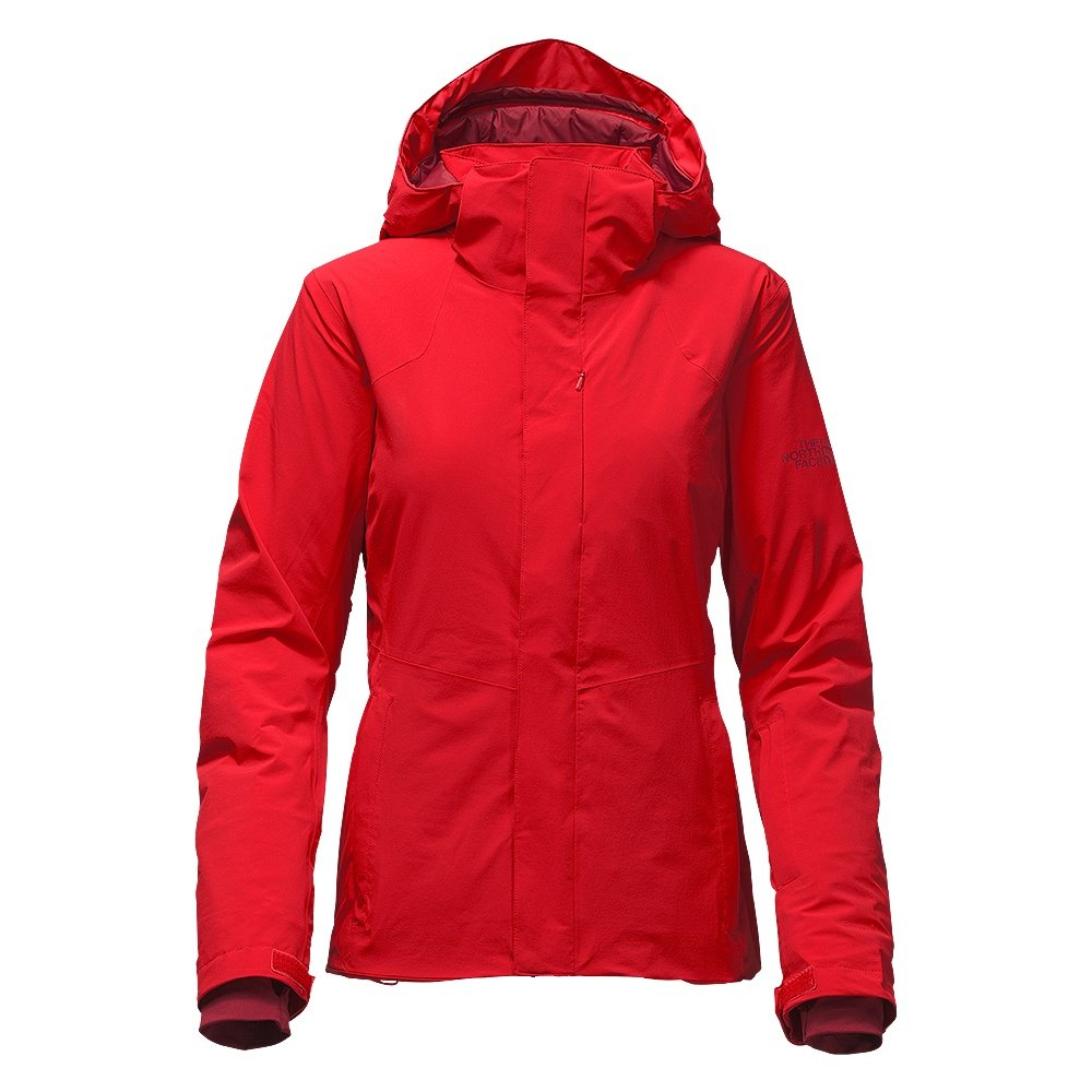 The North Face Powdance Insulated Ski Jacket (Women's) - High Risk Red