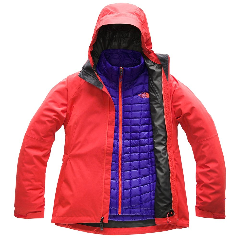 The North Face Thermoball Triclimate Ski Jacket (Women's) - Juicy Red